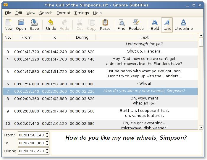 Ingyenes letöltés Gnome Subtitles Mert Linux ::: Szoftver