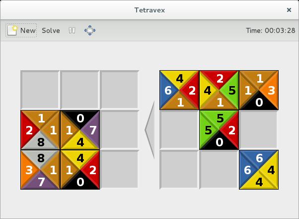 GNOME Tetravex
