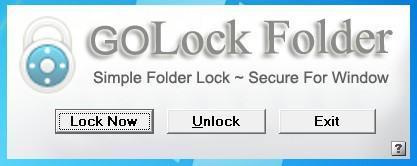 GOLock Folder