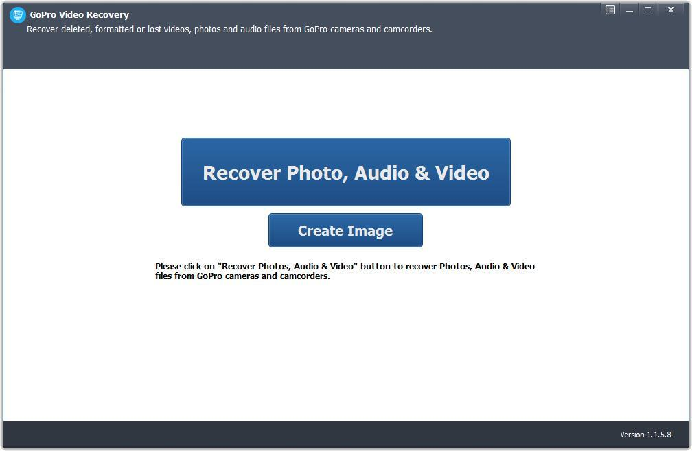 GoPro Video Recovery