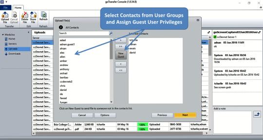 goTransfer Managed File Transfer (MFT) Business Server