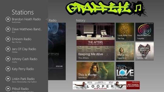 Graffiti Radio for Windows 8