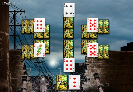 Graffiti Solitaire