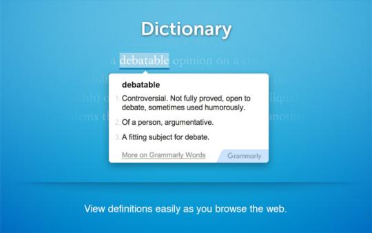 Grammarly Lite for Chrome