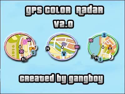 Grand Theft Auto: Vice City GPS Color Radar Mod