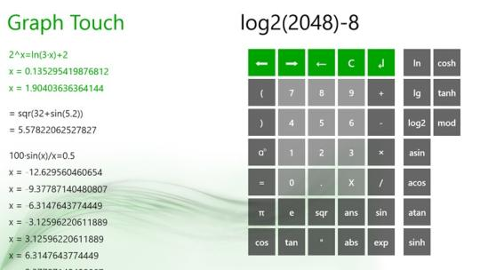 Graph Touch Plus for Windows 8