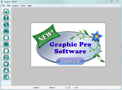 Graphic Pro Software