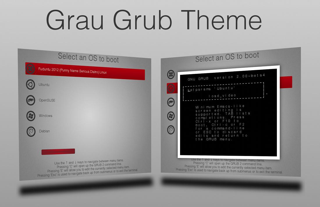 Grau GRUB Theme