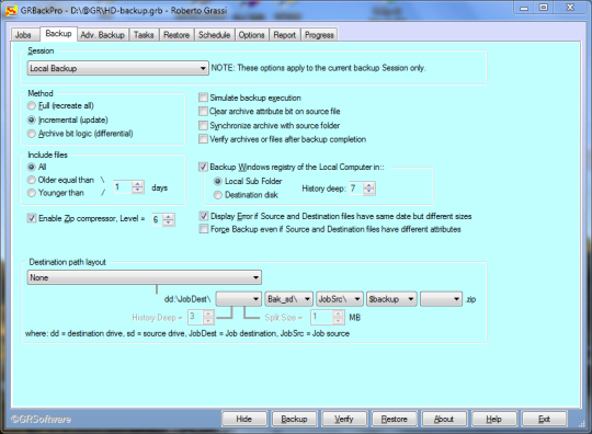 GRBackPro (64-bit)