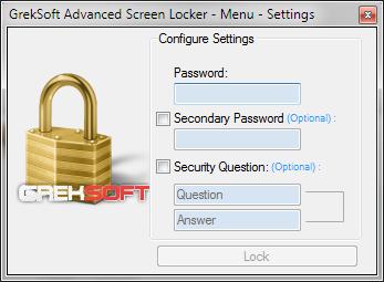 GrekSoft Advanced Screen Locker