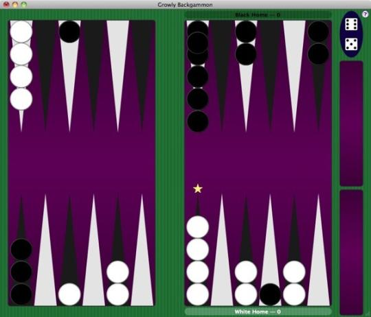 Growly Backgammon