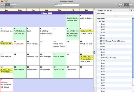 Growly Calendar
