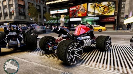 GTA 4 Modifed Cars MoD