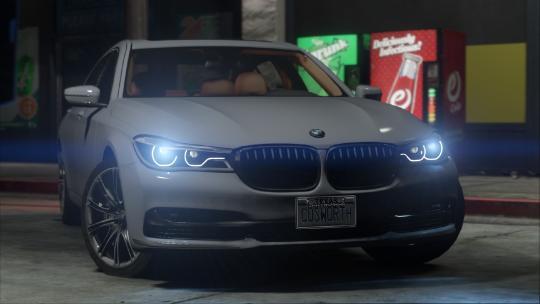GTA 5: BMW 750Li (2016)
