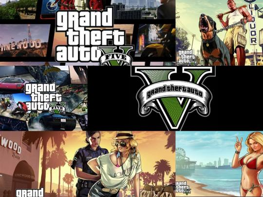 GTA V Windows Theme