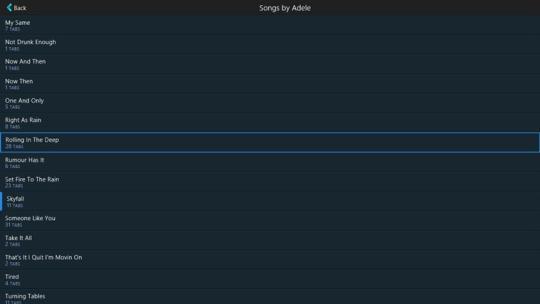 GuitarTapp Pro for Windows 8