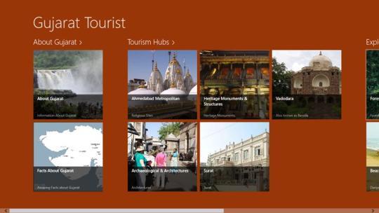 Gujarat Tourism for Windows 8