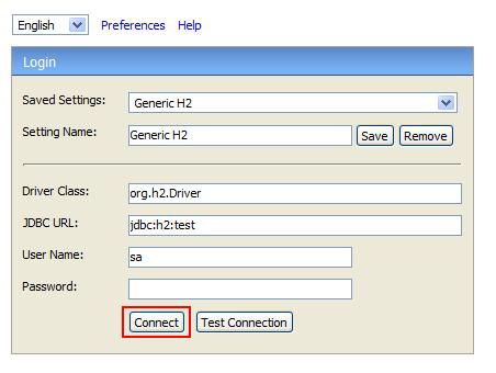 H2 Database Engine Portable