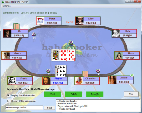 HahooPoker Personal Edition