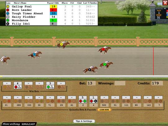 Hands On Horse Racing