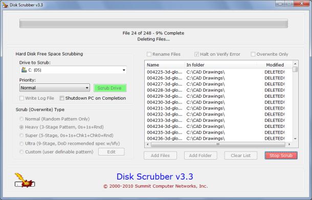 Hard Disk Scrubber