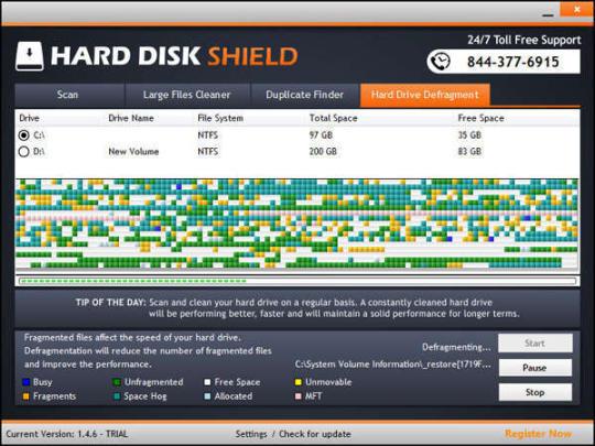 Hard Disk Shield