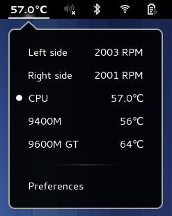 Hardware Sensors Indicator