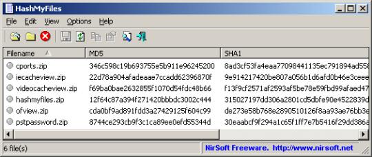 HashMyFiles (64-bit)