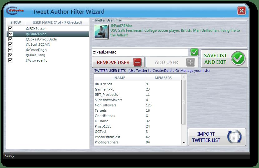 hashTag Monitor