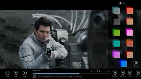 HD Video Player for Windows 8