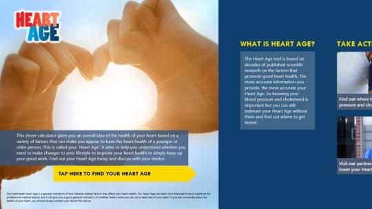 Heart Age for Windows 8
