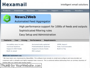 Hexamail News2Web