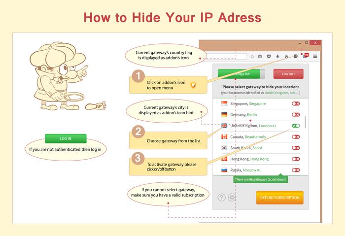 Hide My IP VPN (Firefox)