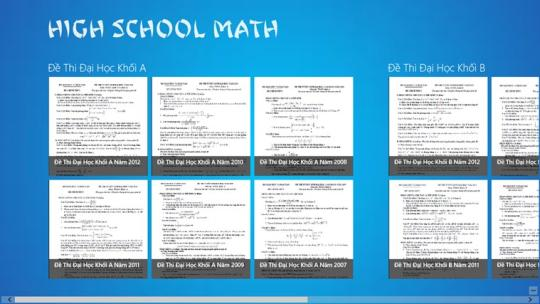 High School Math for Windows 8