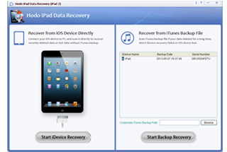 Hodo iPad Data Recovery (iPad Mini)