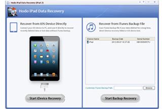Hodo iPad Data Recovery (the New iPad)