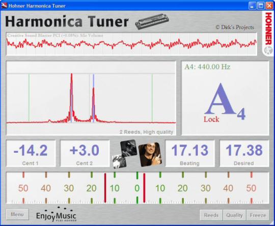 Hohner Harmonica Tuner