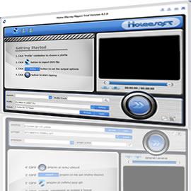 Holeesoft Blu ray DVD to FLV Converter