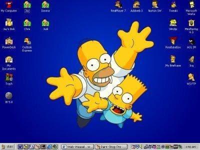 Homer & Bart Theme