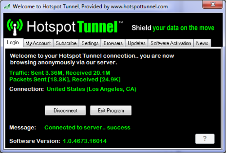Hotspot Tunnel