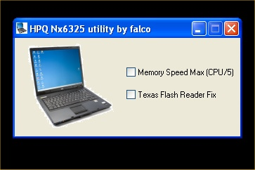 HP NX6325 Utility