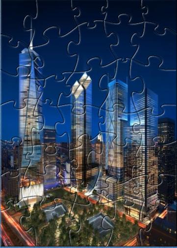 HR New World Trade Center Puzzle