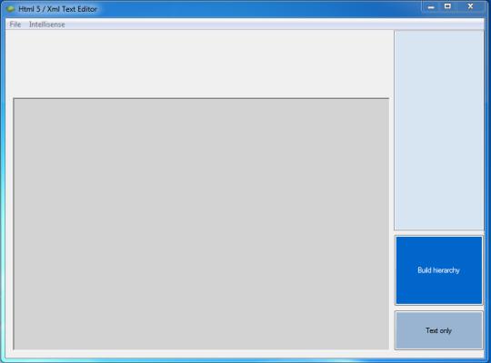Html 5 XMLText Editor