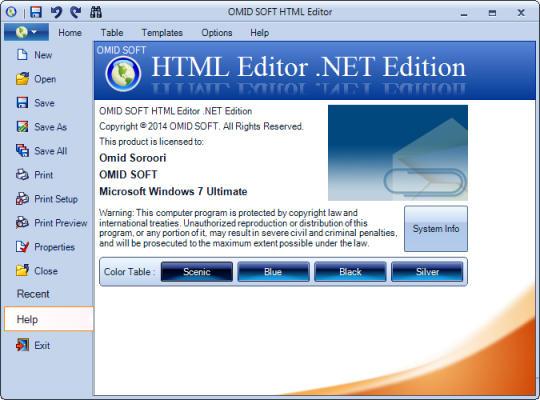 HTML Editor .NET Edition