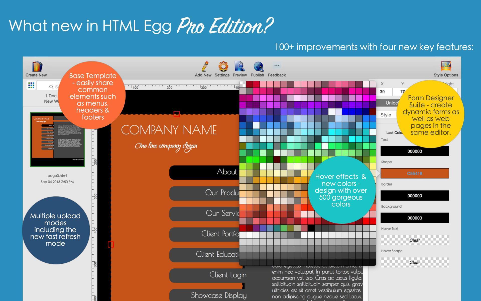 HTML Egg Pro