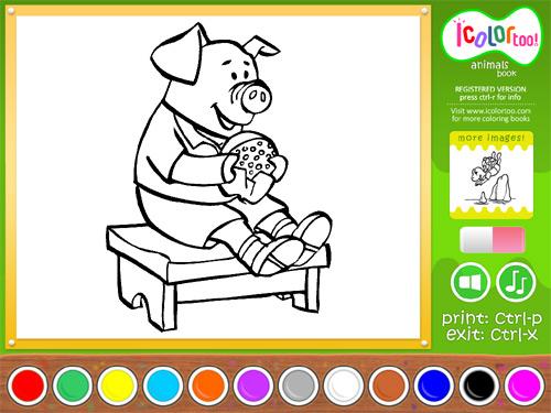I Color Too: Animals 2