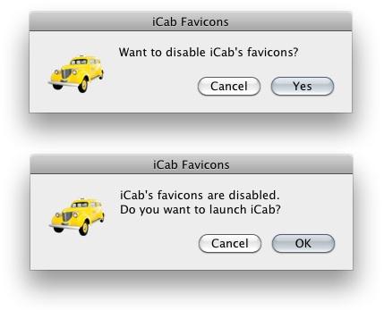 iCab Favicons