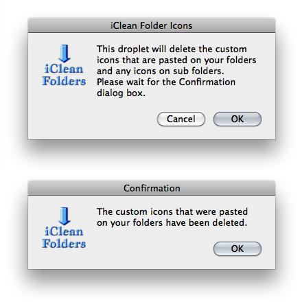 iClean Folder Icons