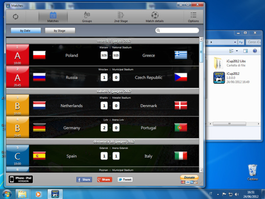 iCup Euro 2012