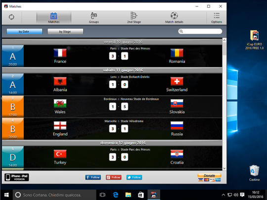 iCup Euro 2016
